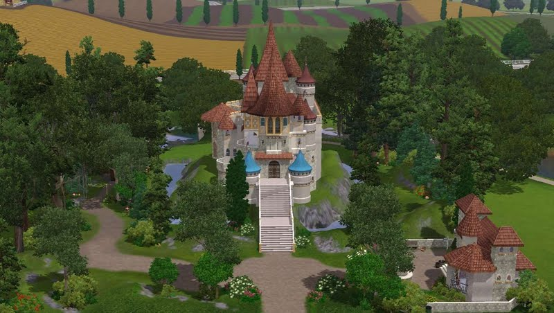Evil Queens Castle Larifari2009 sims3creations